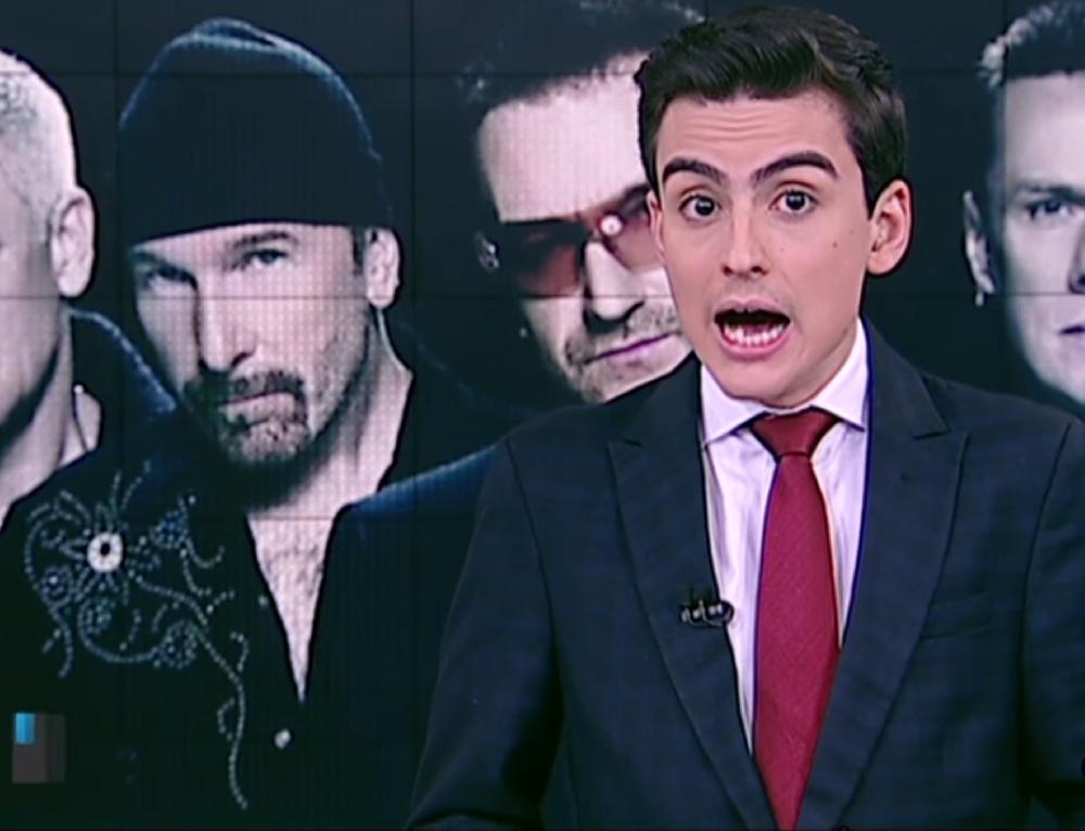 Ele não cansa: Dudu Camargo chama 'U2' de 'U Dois' e diz que banda é da Islândia