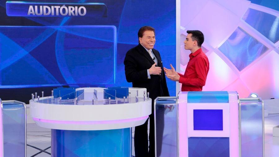 Silvio Santos afirma ter proibido Dudu Camargo de ir a outros programas