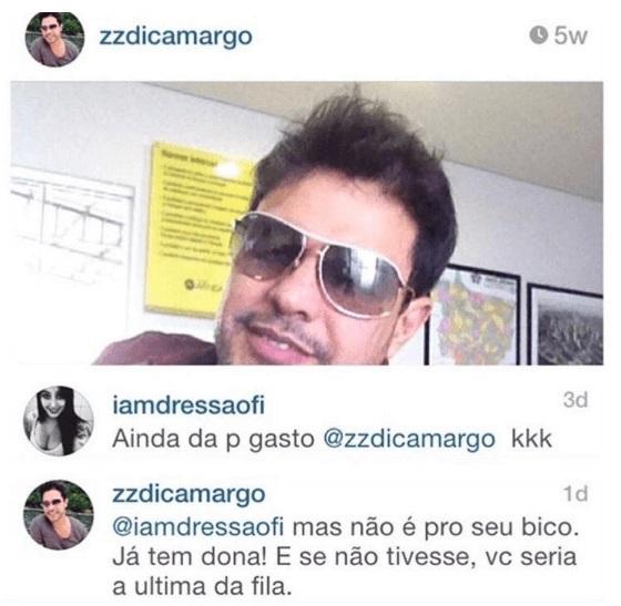 Zezé Di Camargo dá aula de como não tratar fã em redes sociais