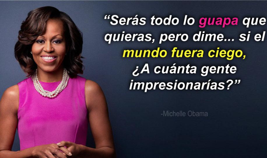 18 frases de Michelle Obama que toda mujer debe leer para sentirse bella, única e importante