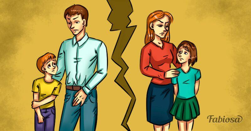 5 atitudes importantes para proteger os filhos durante e após o divórcio!