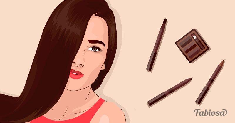 Cinco conselhos para maquiar suas sobrancelhas corretamente de acordo com o tom do seu cabelo