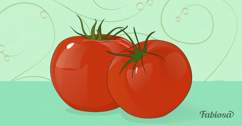 Receita Caseira: tomate para acabar com a oleosidade da pele
