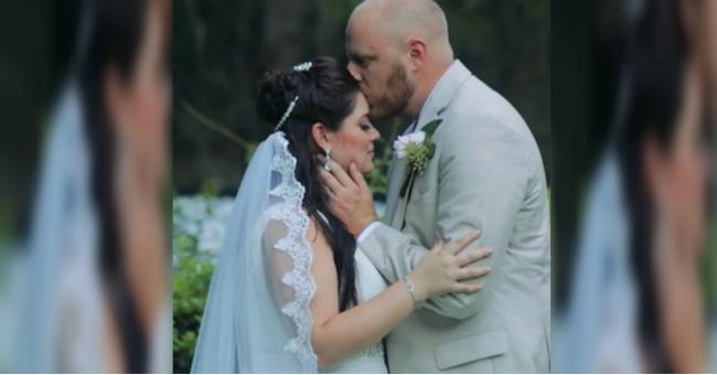 Ela quebrou o pulso 10 dias antes do casamento, veja o que o noivo fez!