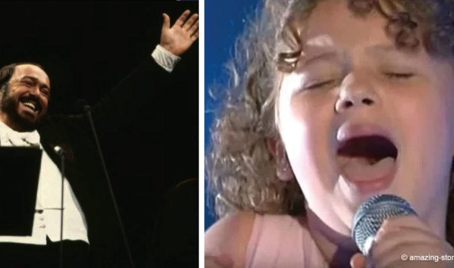 La pequeña nieta de Pavarotti subió al escenario – Hizo que todo la sala se levantara