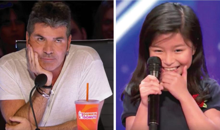La niña menciona a Celine Dion y el jurado resopla – segundos después soprende a todos con su voz