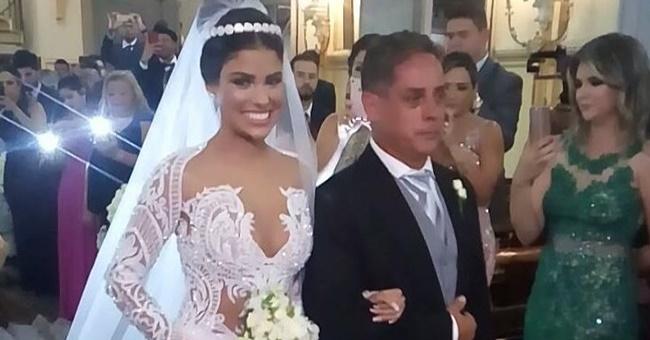 Vestido que ex-bbb usou em casamento foi avaliado em 40 mil!