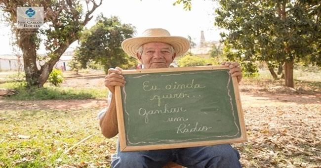 Avós também têm sonhos: projeto promete tentar realizar os sonhos de vários idosos