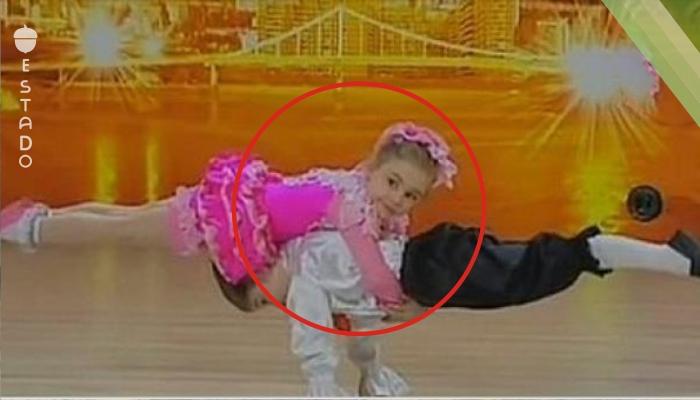 ¡Al principio todos pensaron que estos niños iban a bailar, pero ya un rato después Karina y Yura demostraron lo que son capaces de hacer!