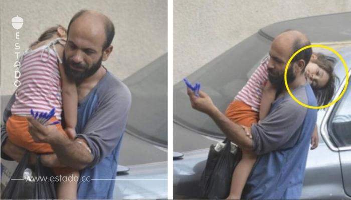 Desesperado y con hija hambrienta, él vendía bolígrafos hasta que un extraño le tomó una foto a su hija y descubrió esto