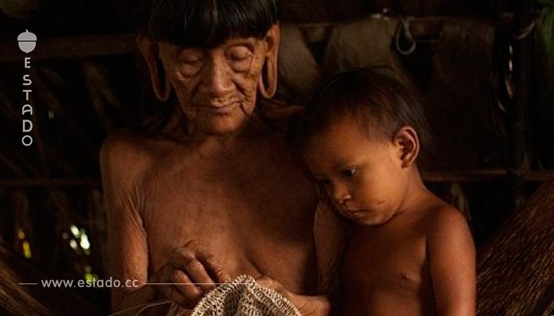 Fotógrafo pasó 12 días con los salvajes del Amazonas – Capturó 10 fotos muy Impactantes!