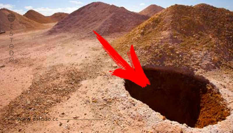 Descubre la increíble ciudad que se esconde dentro de este agujero en Australia