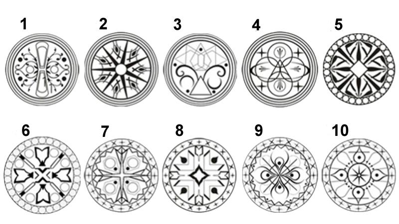Test del Mandala: Elige una figura y descubre tu fuerza oculta.