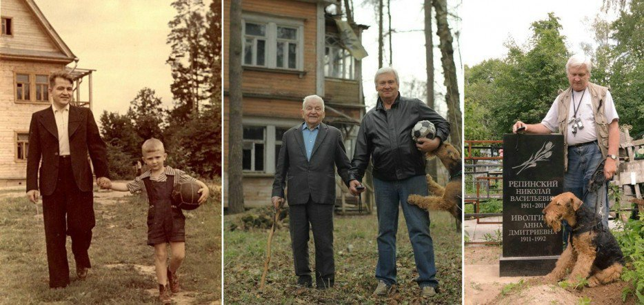 Esto es lo que pasa, si los adultos de repente deseamos recrear nuestras viejas fotografías familiares.