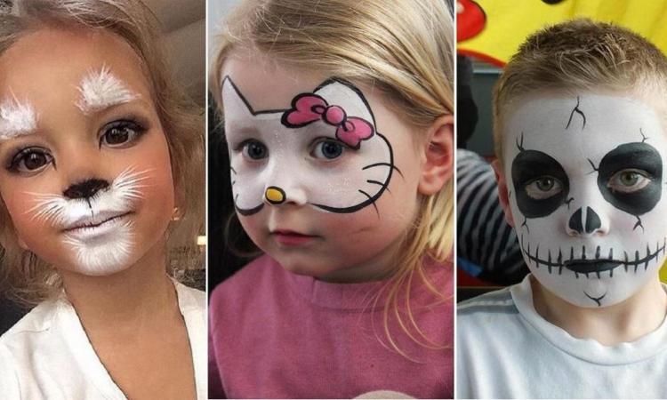 20 maquillajes de Halloween súper chulos para los niños ¡Cópialos!