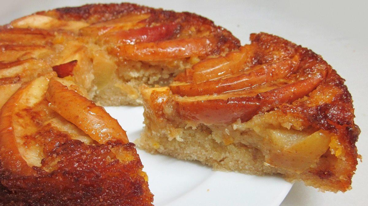 Tarta de manzana especiada: ¡esponjosa y con mucha fruta!