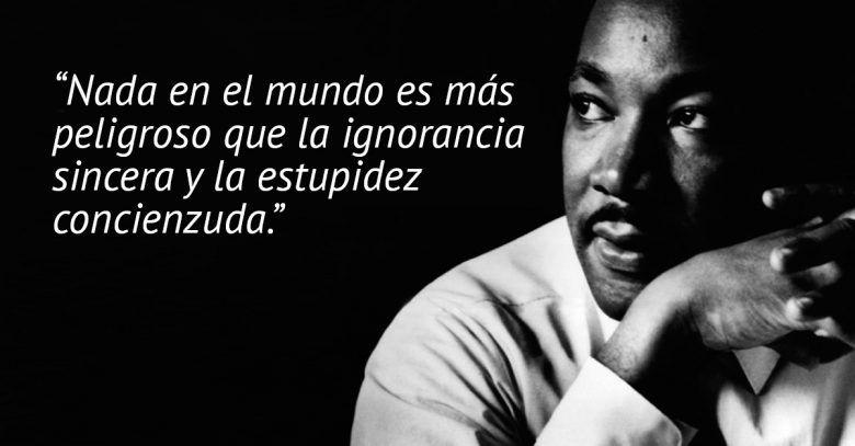 Martin Luther King, frases que no debemos olvidar