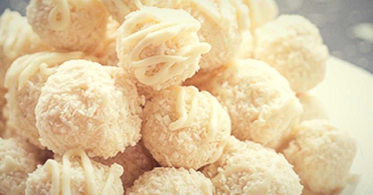 Aprende a hacer estos delicioso Bombones de Coco y Leche Condensada