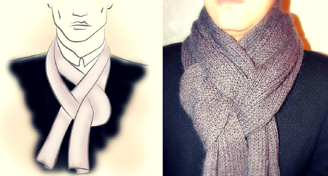 Ideas originales para atar una bufanda o pañuelo con soltura: ¡Elegante y a la moda!