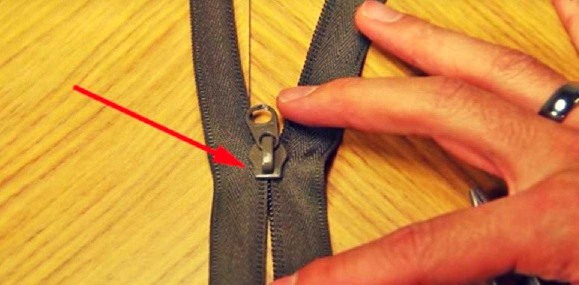 Mi mamá me enseñó ESTE truco para arreglar un cierre roto en un minuto y sin llevarlo a la modista