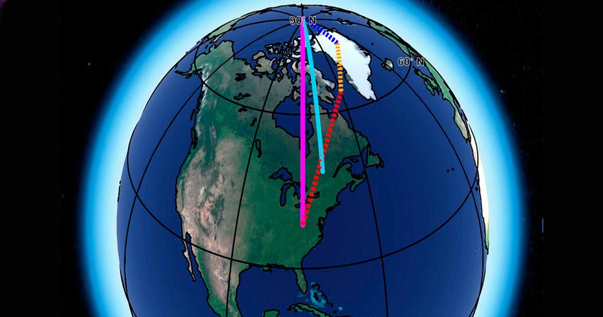 El cambio climático está alterando la rotación del planeta Tierra -