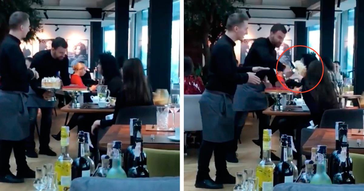 Se viraliza la terrible venganza de 2 camareros contra clientes prepotentes