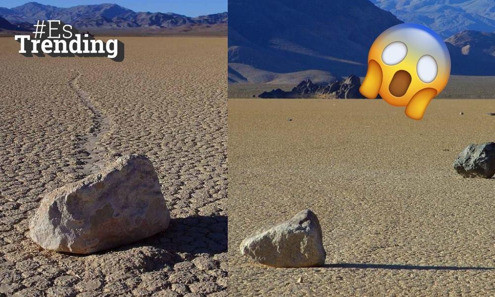 El misterio de las rocas que 'se mueven' solas en el 'Valle de la Muerte'