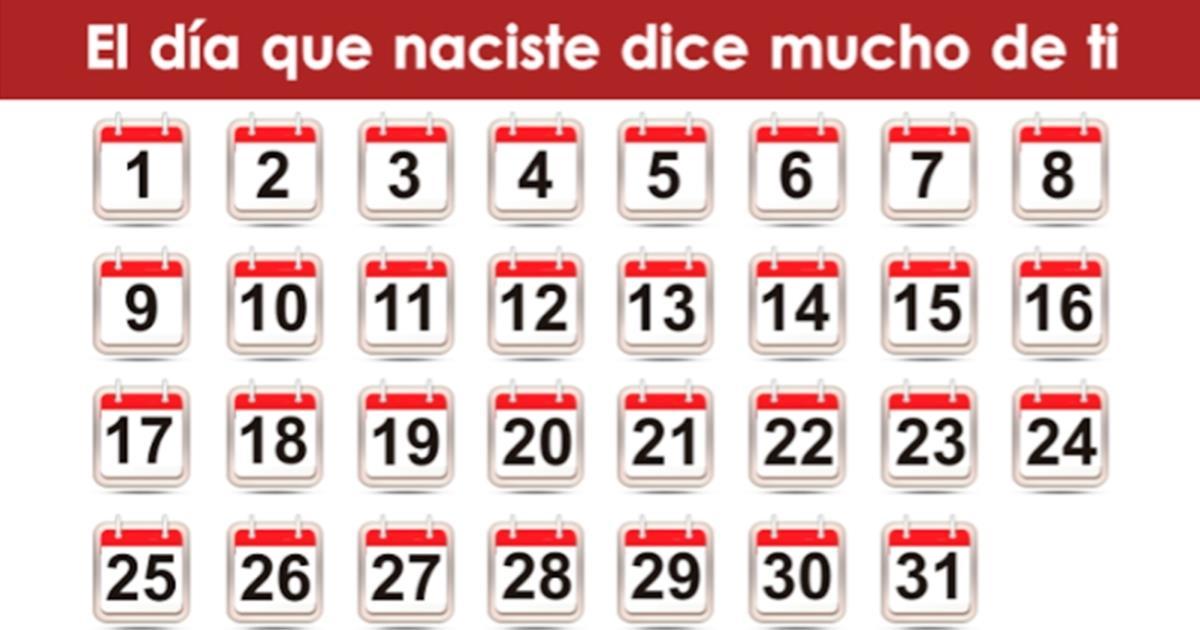 De acuerdo con la numerología, el día que naciste dice mucho sobre ti