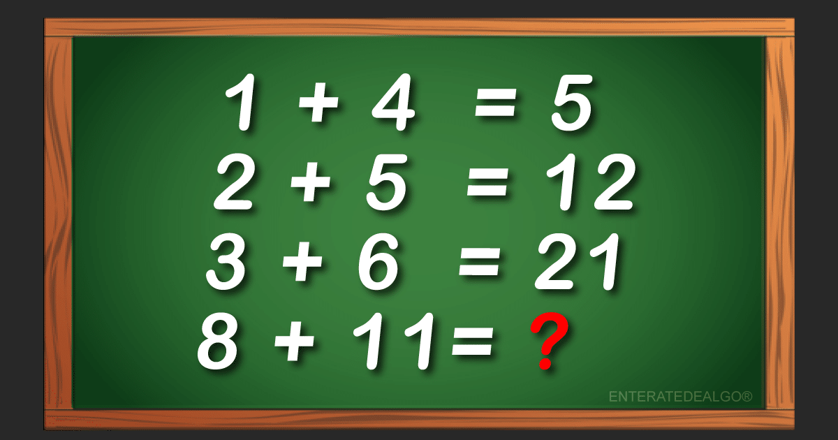 Este acertijo tiene loco a todo el Internet ¿puedes encontrar la respuesta correcta?