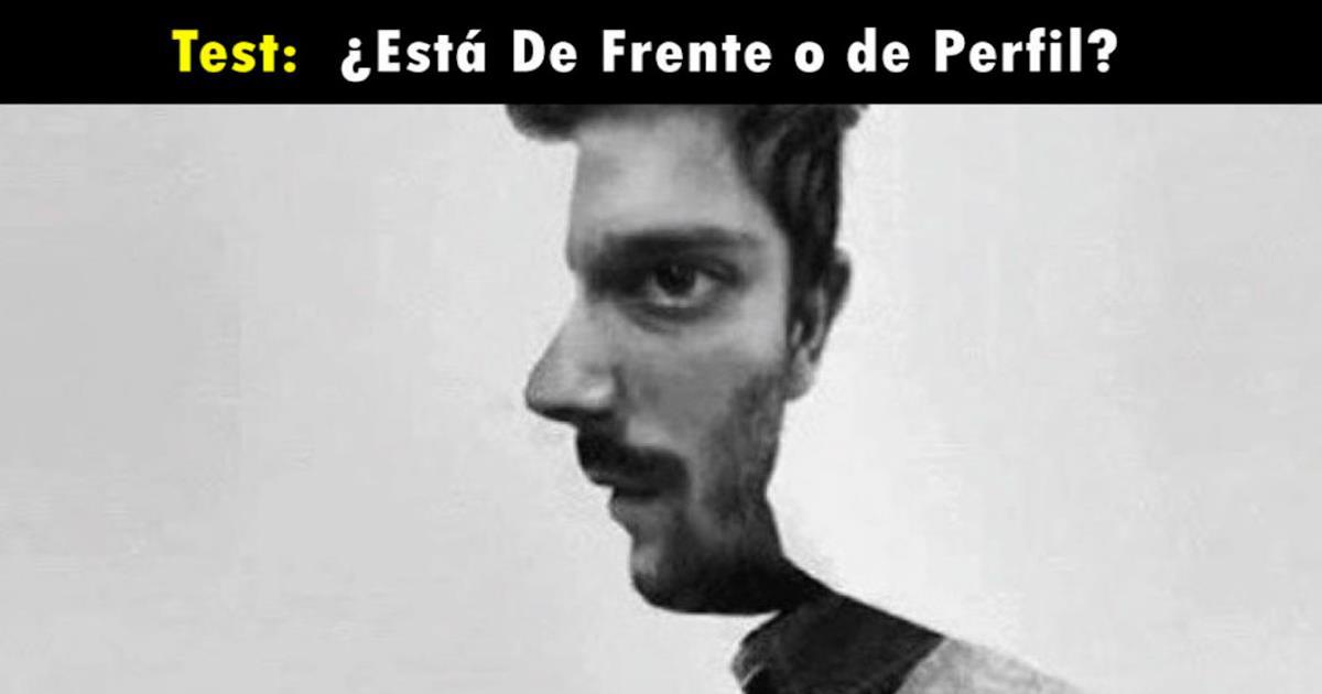 Test: ¿El hombre está de frente o de perfil? Tu respuesta revelará tu personalidad