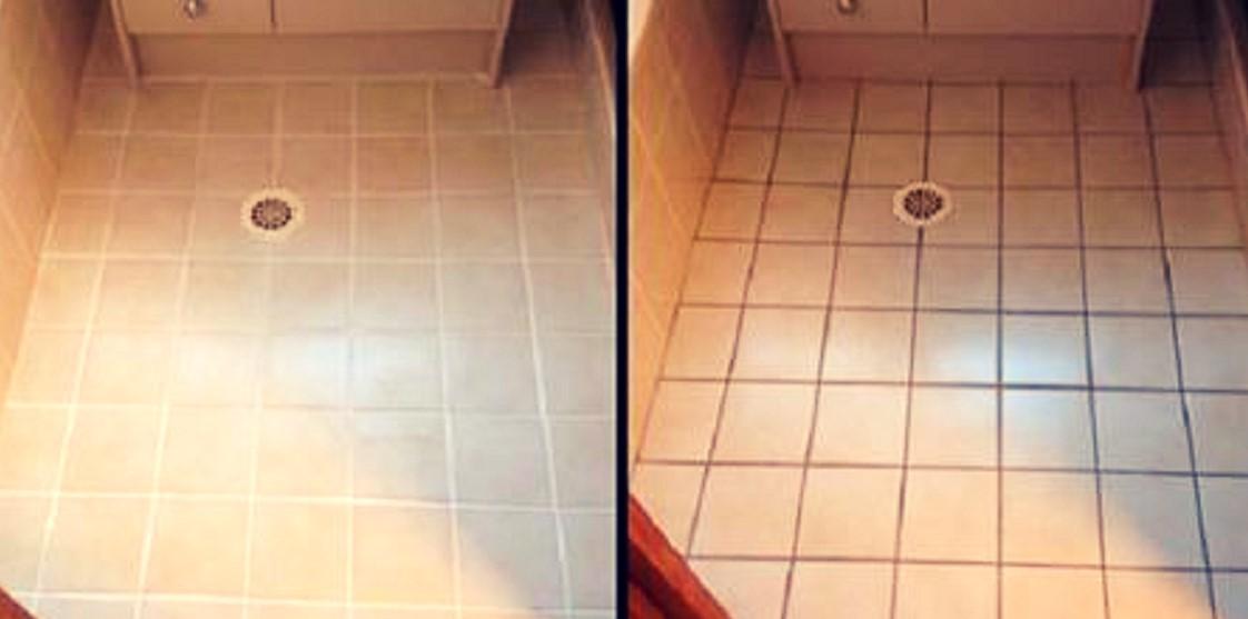 Esta solución simple y natural para limpiar azulejos hará que tu baño luzca como nuevo otra vez.