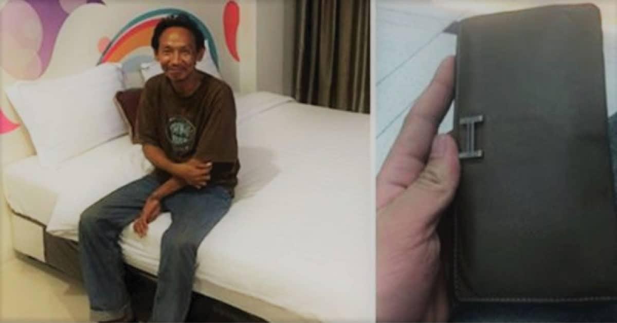 Hombre sin hogar encontró una billetera tirada- Ahora vive en una increíble casa nueva