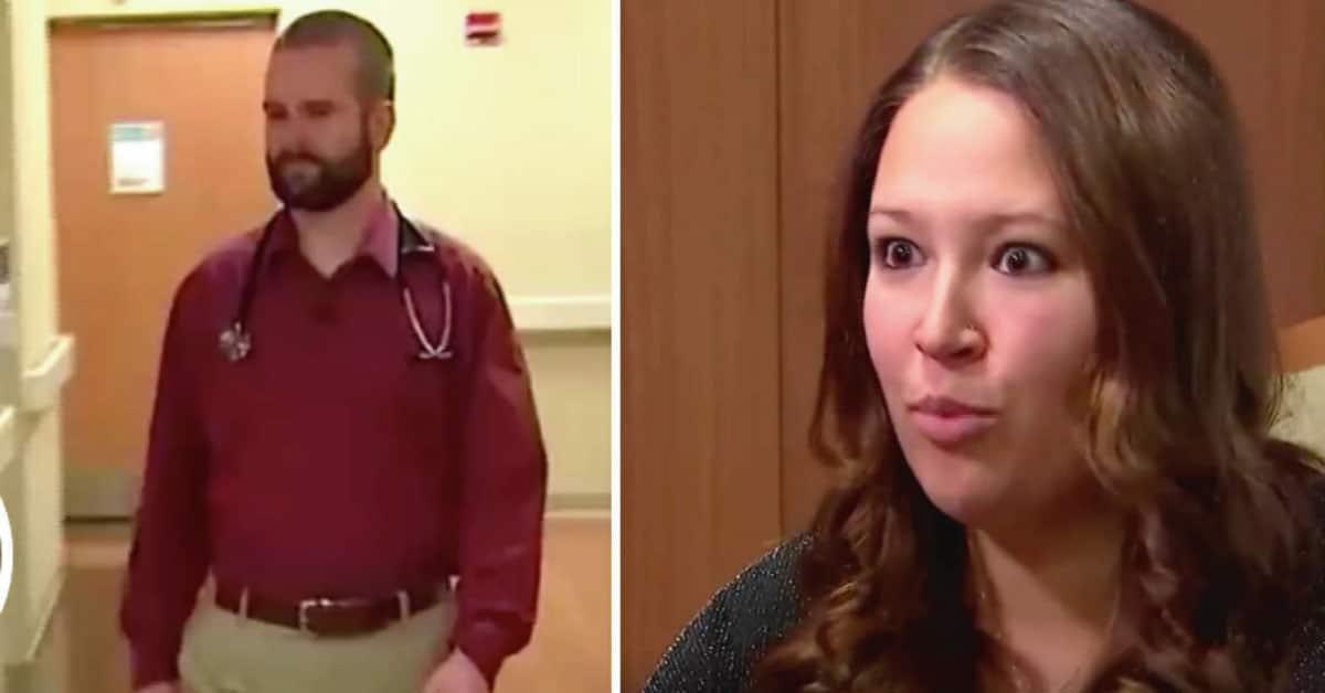Doctor trajo al mundo a un bebé, 9 días después en revisión la madre no lo cree cuando él le dice: