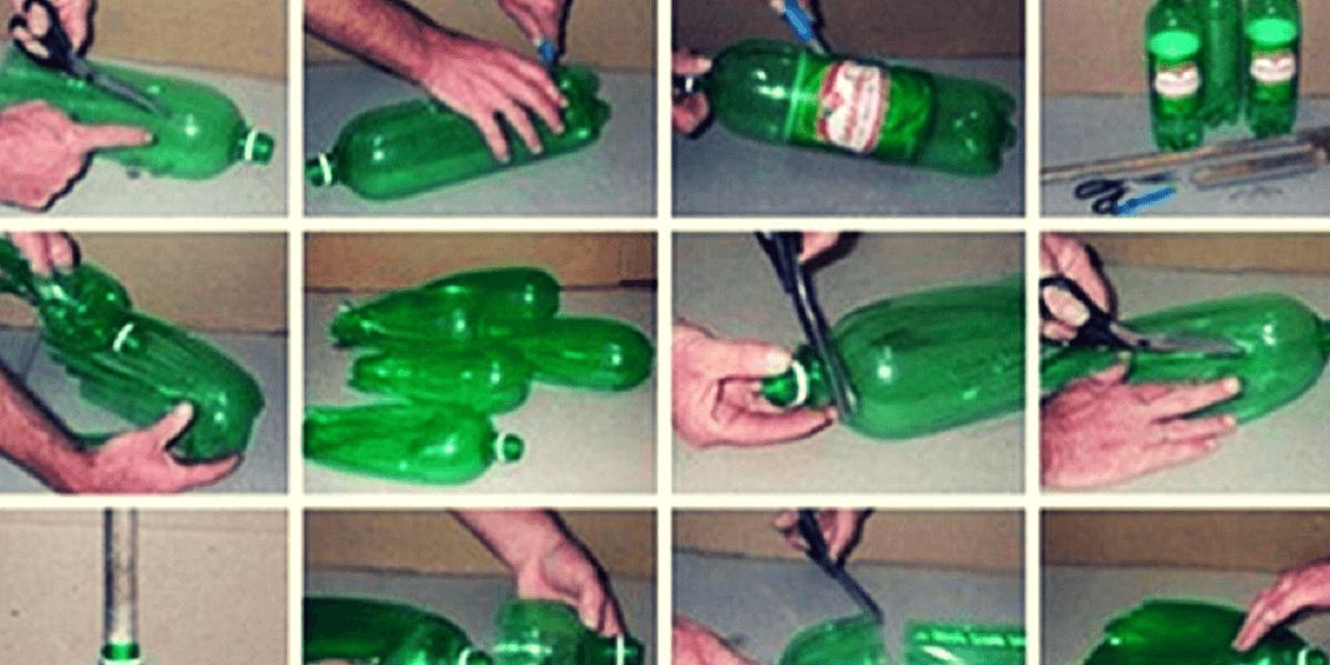 ¿Siempre tiras las botellas de plástico a la basura? ¡Aquí tienes 10 ideas de reciclaje creativas, Útiles y… Lindas