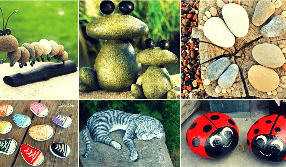 Coge piedras de la calle y copia estas 10 espectaculares ideas para decorar tu hogar…