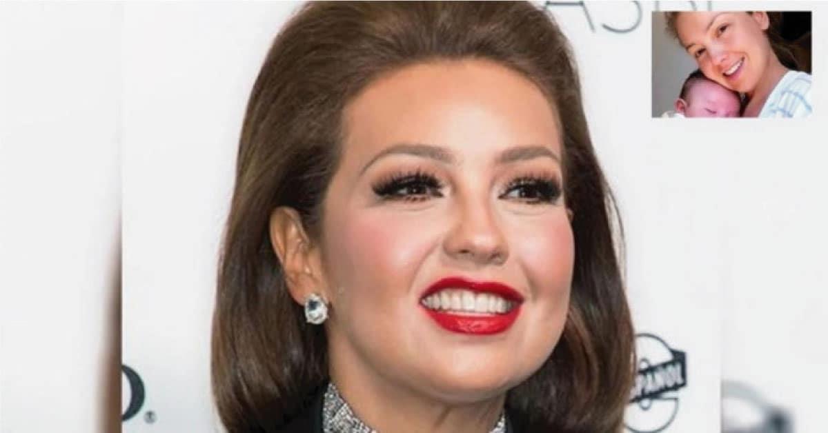 En una cama de hospital y sin nada de maquillaje, pocos han visto a Thalía con este aspecto