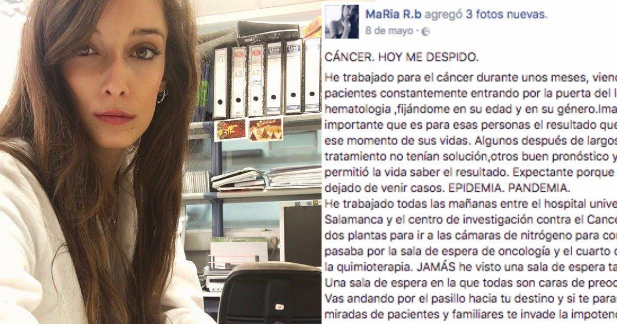 La carta de una científica que cuenta la triste realidad sobre la investigación del cáncer en España