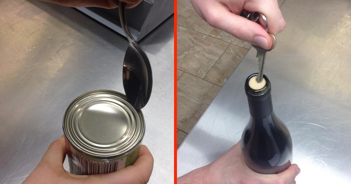 12 trucos de cocina para mantener los utensilios limpios y a la mano