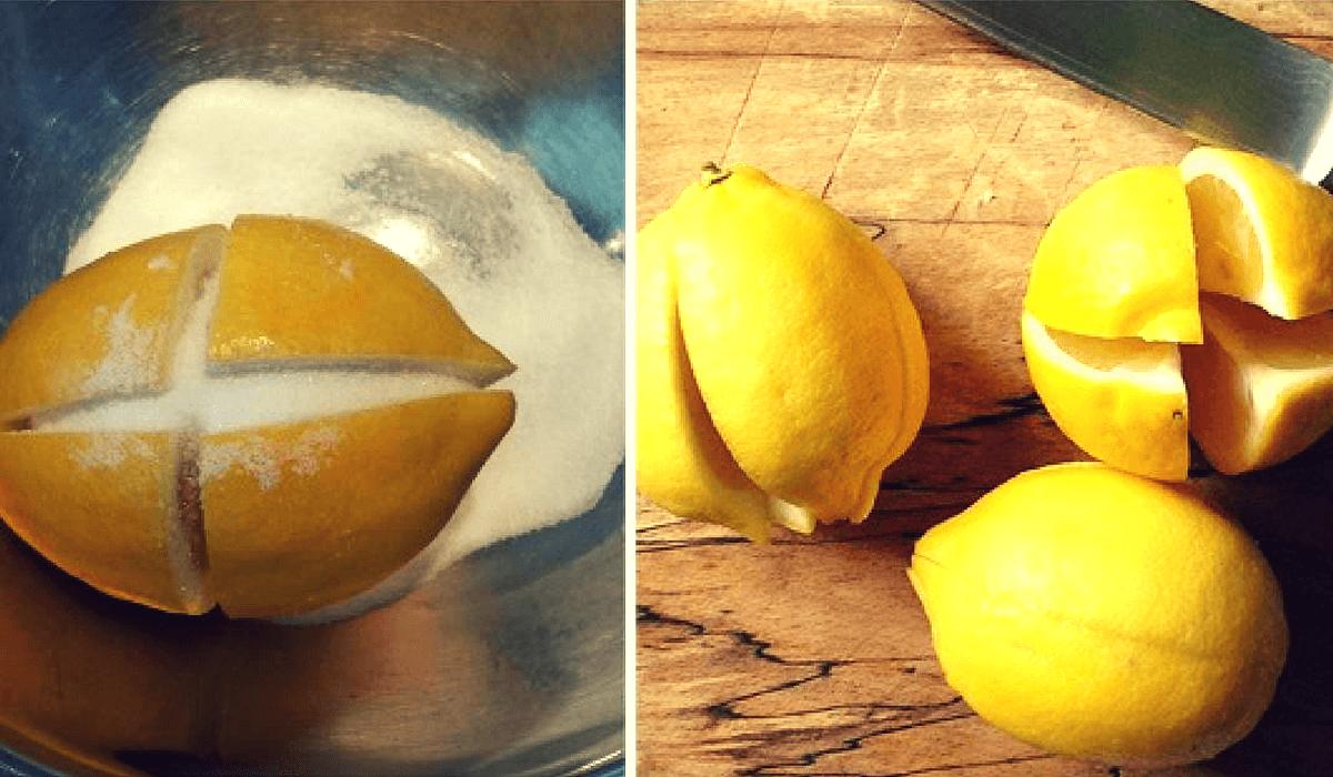 Elimina los malos olores en tu cocina, combate las bacterias y los gérmenes con un limón y sal ¡Mira cómo!