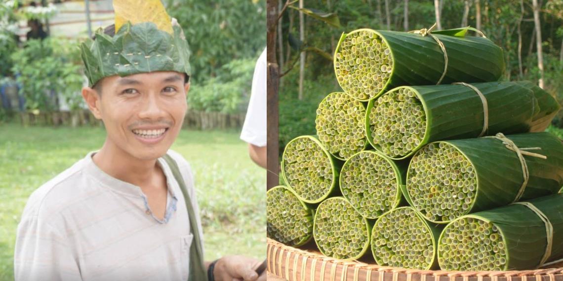 Vietnamita crea pajilla biodegradable a base de hierbas para evitar el plástico