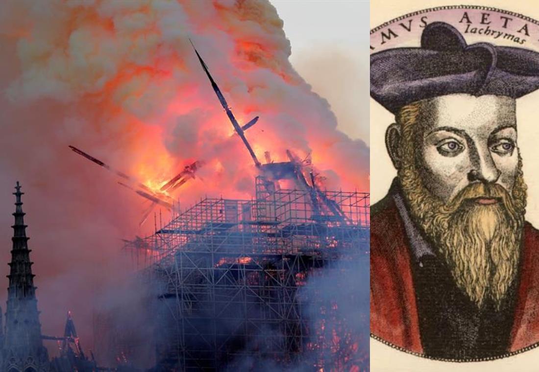 Nostradamus habría profetizado el incendio en la catedral de Notre Dame