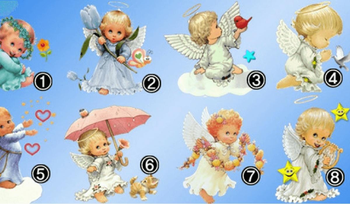 Escoge un Ángel y haz clic en la imagen para ver el lindo mensaje que trae para tu vida