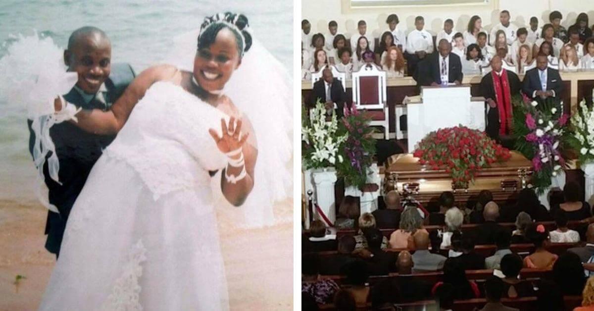 Una mujer asiste a su propio funeral para vengarse de su marido