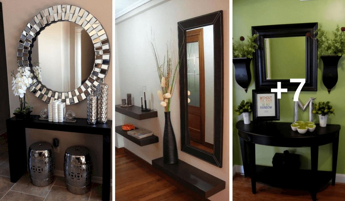 10 ideas de cómo decorar el recibidor de tu casa y dejar a tus invitados boca abierta