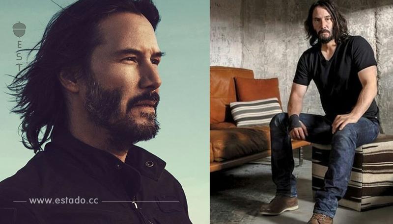 A sus 54 años Keanu Reeves se convierte en modelo y es oficialmente un 'sugar daddy'