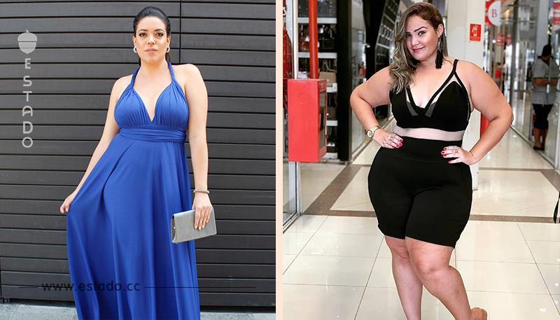 Forma de vestir correcta e incorrecta para una mujer con curvas