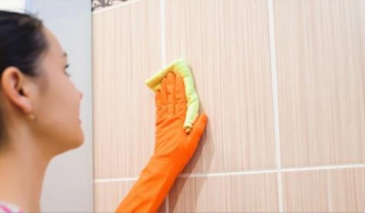 Aprende a limpiar la unión de los azulejos con estos productos 100% naturales hecho en casa