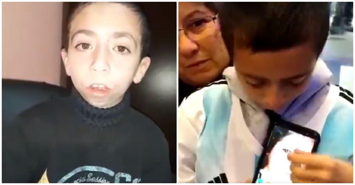 Niño ofrece tierna recompensa para recuperar celular con fotos de su madre fallecida