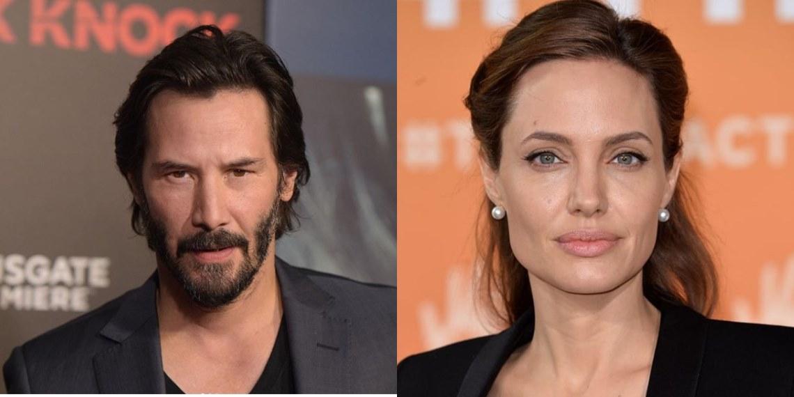¿Keangelina? Rumores apuntan a una cita entre Keanu Revees y Angelina Jolie