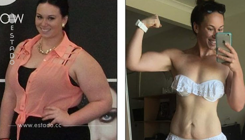Tenía obesidad mórbida y perdió 55 kg en 9 meses de manera natural. Este ha sido su secreto